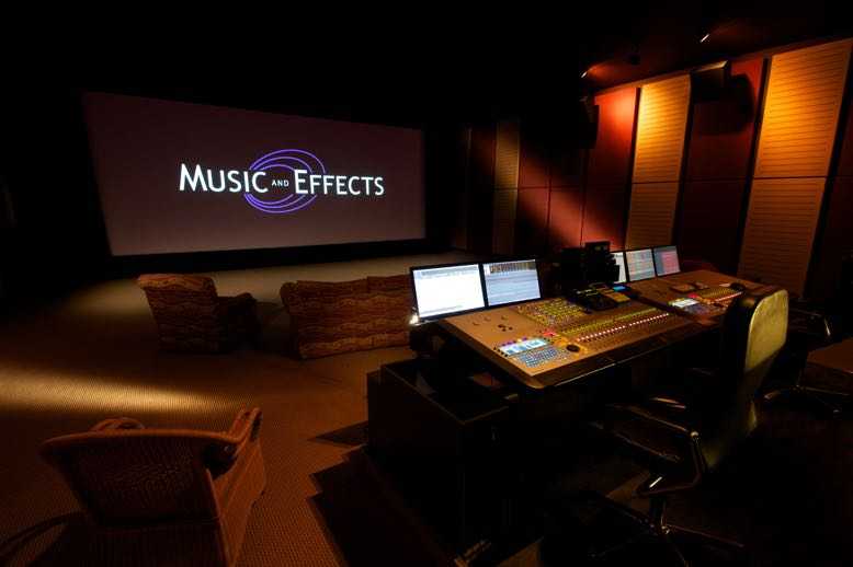 Music and Effects Cinema Mixing